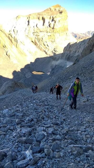 Monte Perdidon aritu dira Matxinkorta mendi taldeko kideak - 8
