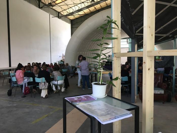 Aiaraldeko emakume feministen topaketa argazkitan - 48