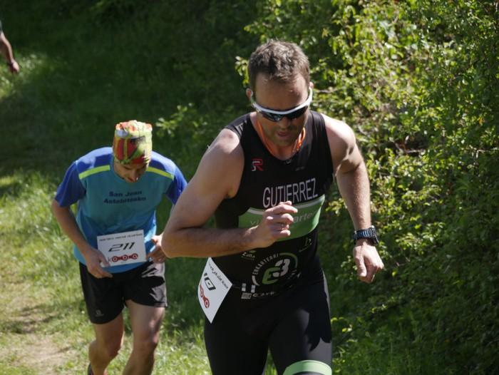 Zuriñe Frutosek eta Iñaki Isasik irabazi dute Aiarako Mendi Duatloia - 47