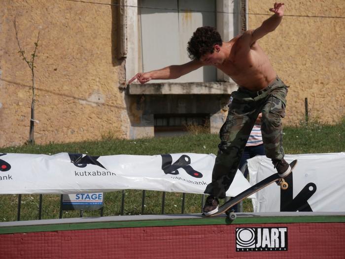 Skatearen Euskal Herriko hiriburua bilakatu da Urduña arratsalde batez - 2