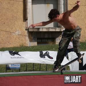 Skatearen Euskal Herriko hiriburua bilakatu da Urduña arratsalde batez