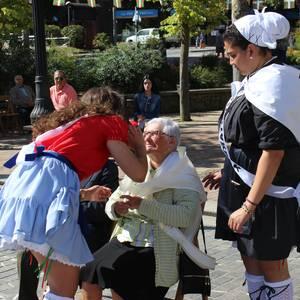 Haurrak eta edadetuak izan dira nagusi festetako bigarren egunean