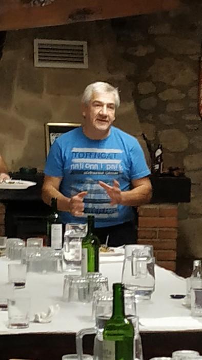 Mikologia zaleek Tomas Sautua omendu dute asteburuan