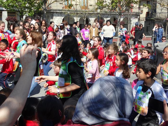 Korrika Txikia Urduñan: Foru plaza hartu zuten herriko txikienek - 27