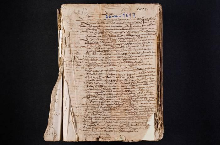Udal artxibo historikoa digitalizatzeari ekin diote, 1617. urtetik aurrera