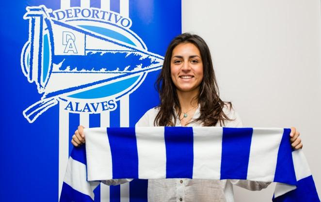Naia Vallejo fitxatu du Alavesek