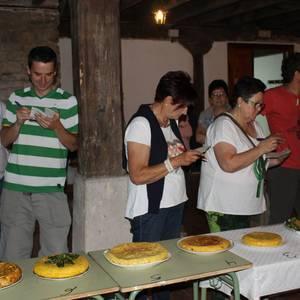 Lantenoko Jaiek baliatu zuten Santiago Egunean gastronomia erdigunean jartzeko