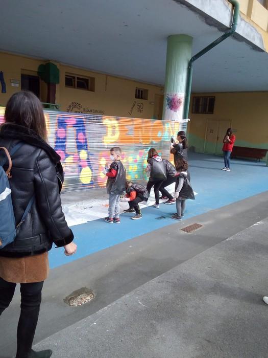 Graffiti tailerra burutu dute Lamuza Ikastetxean - 13