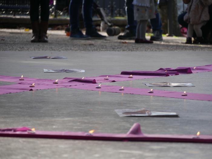Indarkeria matxistaren aurka mobilizatu dira eskualde osoan - 32