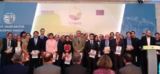 EMAS Europako ingurumen-kudeaketa sistema ezartzen egindako lanagatik jaso du saria udalak