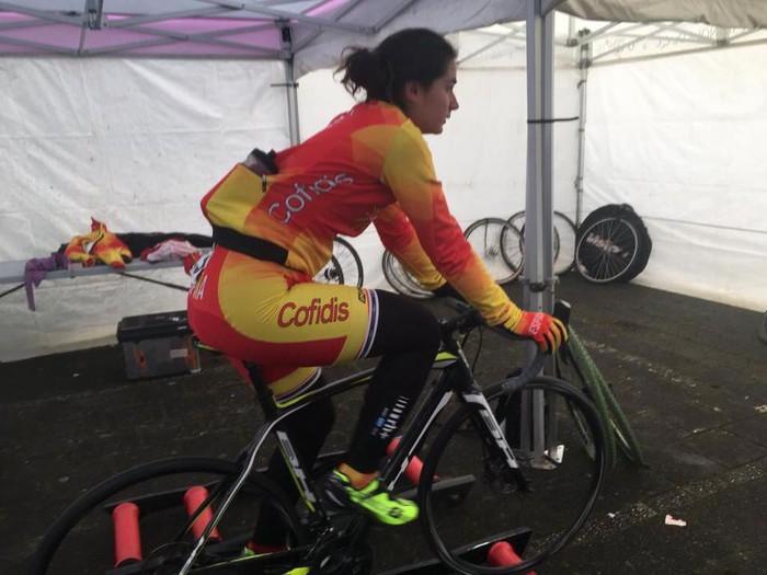 Luisa Ibarrolak 26. postua eskuratu du Munduko Ziklokros Txapelketan sub-23 kategorian
