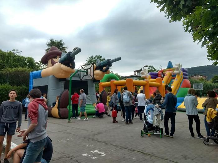 Ikasturte amaierako festa egin zuten atzo Virgen Niñan - 6