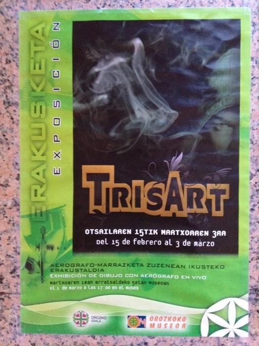 """""""Trisart"""" erakustaldia Orozkoko museoan"""