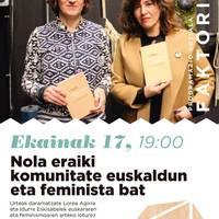 Nola eraiki komunitate euskaldun eta feminista bat