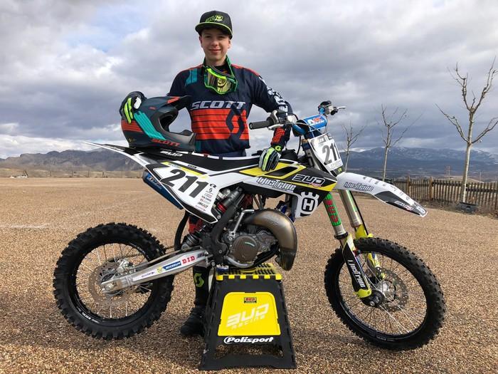 Gilen Albisua aiararrak Munduko Motocross txapelketan parte hartuko du asteburu honetan Italian
