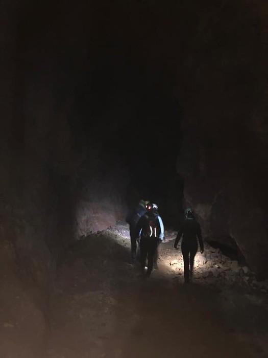 Trianoko mendietako Magdalenaren koba ibili gara esploratzen - 6