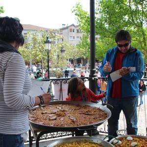 Otxomaio jaietako paella eta patata tortilla txapelketa argazkitan