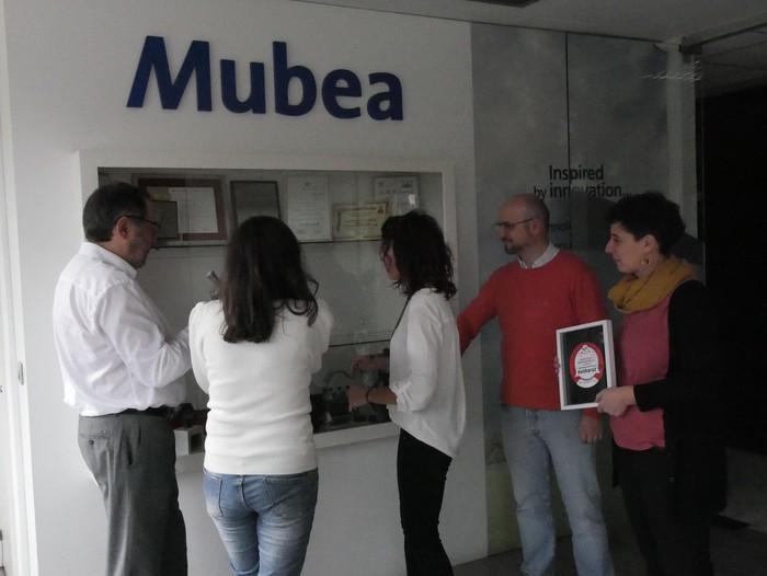 Mubea Inauxa saritu du Lanekik ikasleei prestakuntza euskaraz eskaintzeagatik  - 22