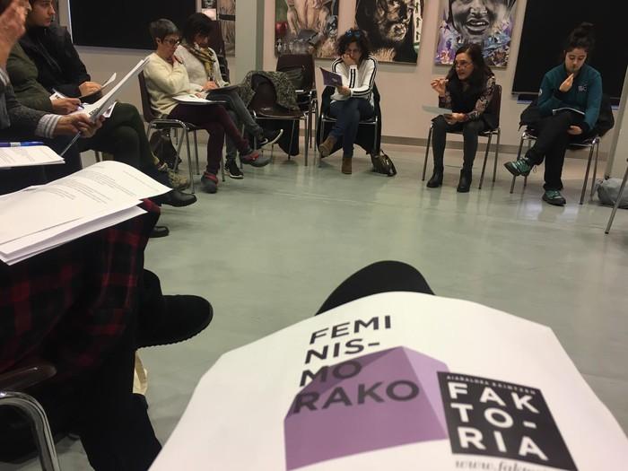 """""""Memoria historiko feminista eraikiz"""" lan saioa antolatu du Faktoriak"""