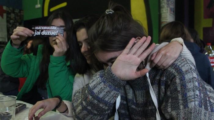 Feminismoz kargatu zituzten arkatzak Ikasle Egunean - 14