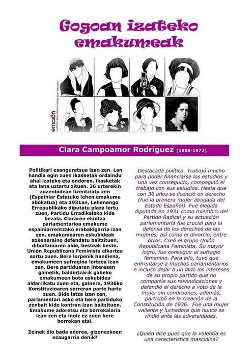 Clara Campoamor Rodriguez 2/8