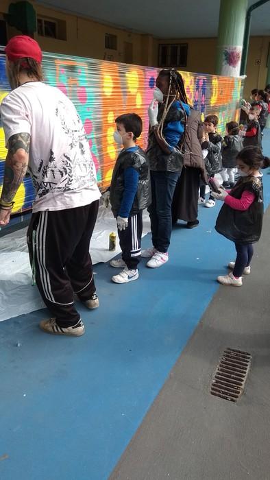 Graffiti tailerra burutu dute Lamuza Ikastetxean - 8