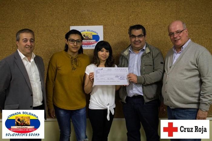 4.500 euro bildu ditu Ekuadorreko kaltetuen aldeko elkarteak apirileko lurrikararen ondorioak konpontzeko