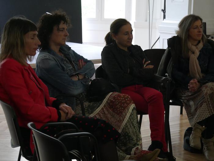 Autodefentsa feministari buruz hausnartu zuten atzo Kasinoan - 9
