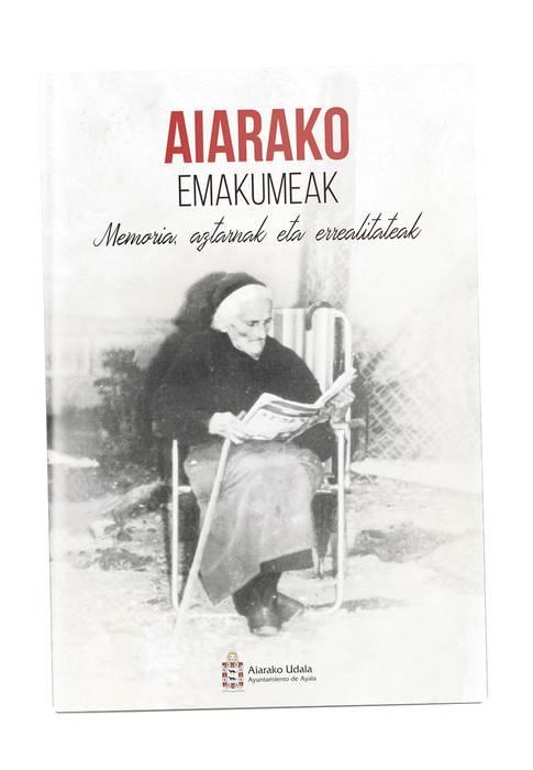 Aiarako 35 emakumeren errealitate eta arrastoak, liburu