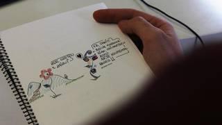 Loreen istorioak kontatzen dituen marrazki-liburu bat kaleratu du Igor Arzuagak