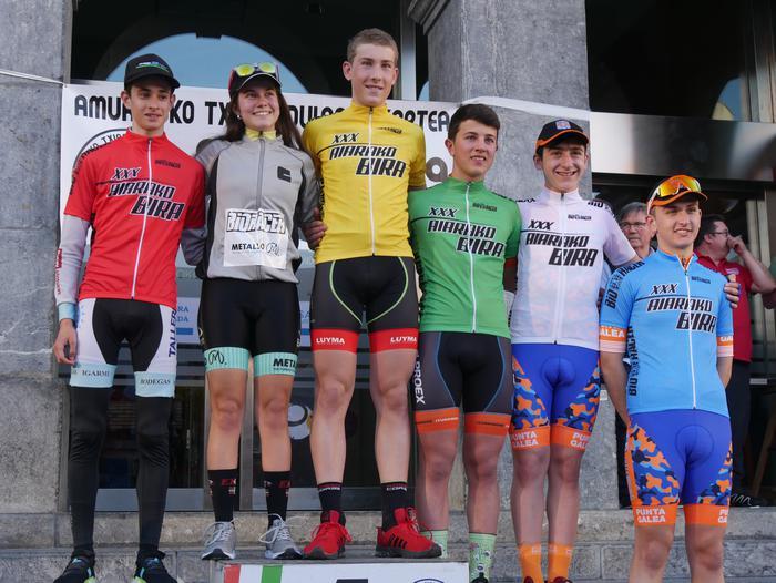 Pablo Fernandezek irabazi zuen sprintean Aiarako Birako lehen etapa - 2