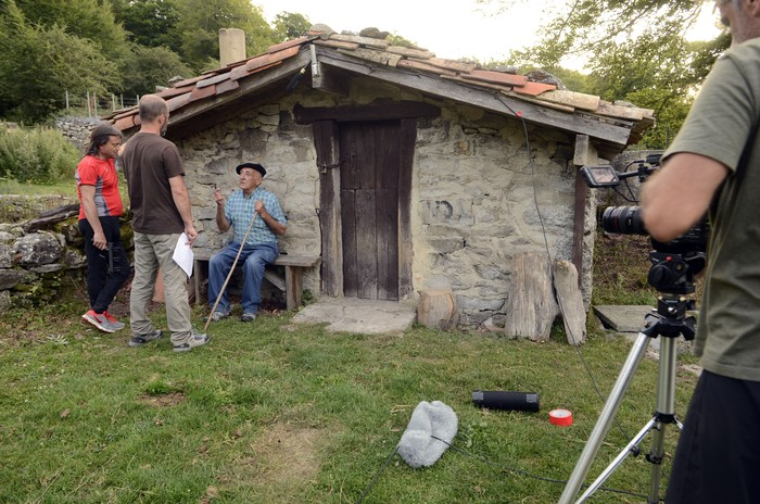 Abeltzaintzari buruzko dokumentalaren grabaketari ekin diote - 4