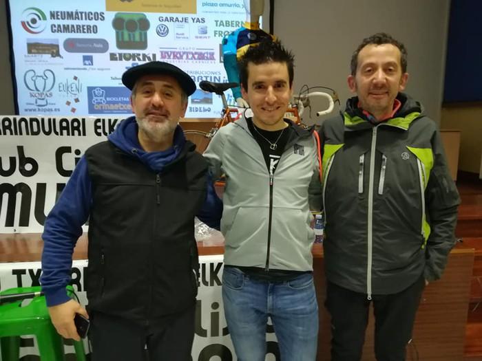 Igor Antonen solasaldia, Amurrioko Txirrindulari Elkartearen urtemugaren pizgarri - 17