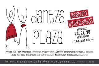Dantza plaza ikastaroa eskainiko du Aiara Dantza Taldeak