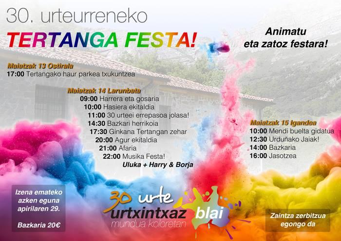 30. urteurreneko Tertanga Festa!