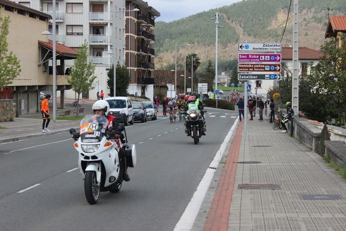 Euskal Herriko itzuliak eskualdeko errepideak hartu ditu - 26