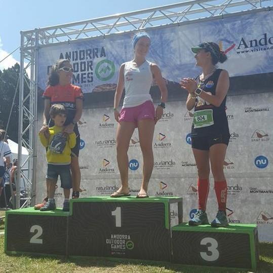 Izaro Olivaresek irabazi zuen Pic Negre Traila Andorran