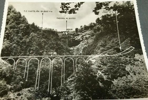 Izarra-Ugao trenbidea; eskualdea zeharkatuko zuen proiektu ahaztua
