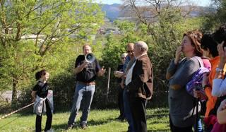 A-625 errepideko proiektua moldatzeko asmoa duela azaldu zion Aldundiak Saratxoko administrazio batzarrari