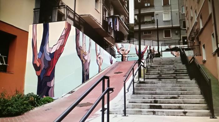 Iturralden murala margotuko du udalak