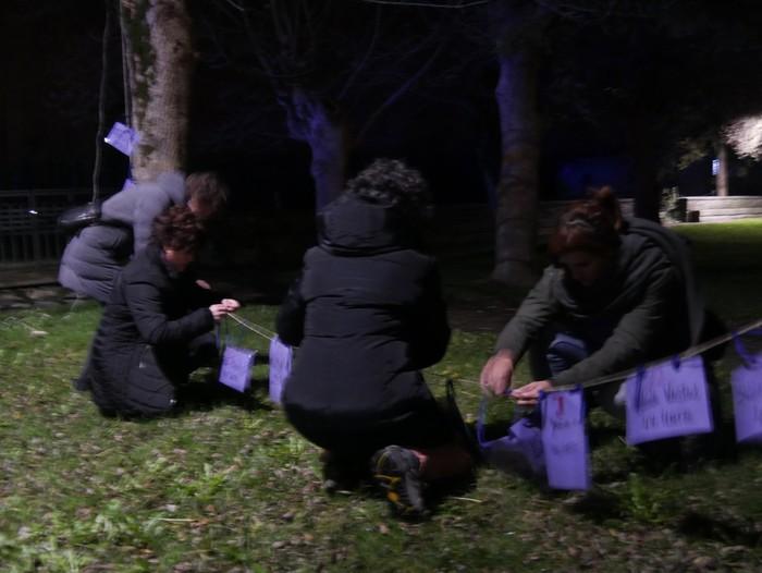 Indarkeria matxistaren aurkako aldarriz bete dituzte eskualdeko kale eta plazak - 64