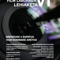 Orozkoko Film Laburren VI. Lehiaketa