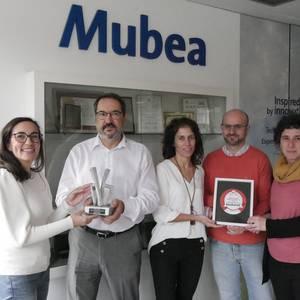 Mubea Inauxa saritu du Lanekik ikasleei prestakuntza euskaraz eskaintzeagatik