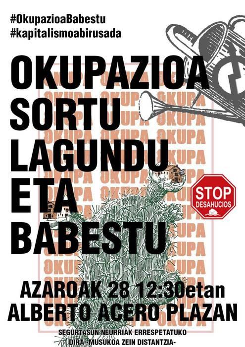 #OkupazioaBabestu