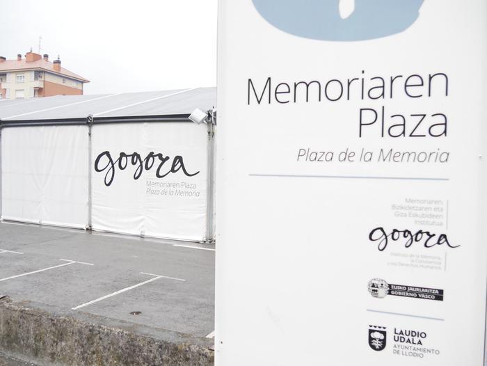 Memoriaren Plaza ikusteko aukera egongo da igandera arte - 4
