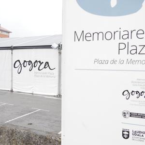 Memoriaren Plaza ikusteko aukera egongo da igandera arte