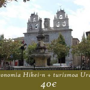 Gastronomia + turismoa Urduñan