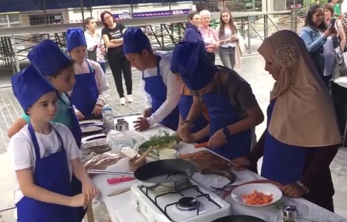 Amurrioko ikasleek Master Txiki gastronomia jardueran hartuko dute parte bigarren urtez jarraian