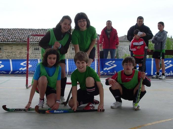 Partaidetza zabala eta giro ederra II. San Prudentzio 3x3 Hockey Txapelketan