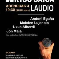 Andoni Egaña, Maialen Lujanbio, Uxue Alberdi, Jon Maia